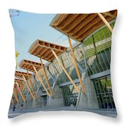 Olympic Oval Throw Pillow