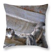 Olympic Sculpture  Throw Pillow
