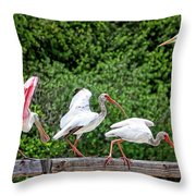 Olympic Team Tryouts Throw Pillow