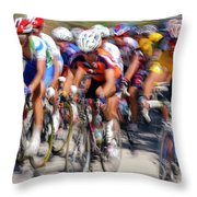 Olympics In Athens Throw Pillow