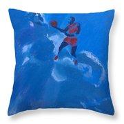 Omaggio A Michael Jordan Throw Pillow
