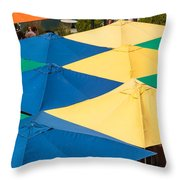 Umbrella  Heaven  Throw Pillow