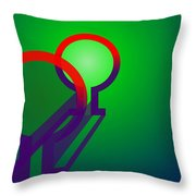 Omega Xfers Throw Pillow