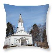 Omena Presbyterian Church Throw Pillow