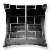 Ominous Stairs Throw Pillow