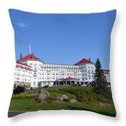 Omni Mount Washington Resort Throw Pillow