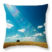 Omnipotent Throw Pillow