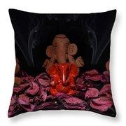 Omnipresence Throw Pillow