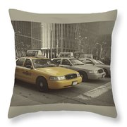 On 5th Avenue Throw Pillow