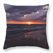 On A Cloudy Night Throw Pillow
