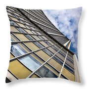 On A Curve  Throw Pillow