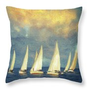 On A Day Like Today  Throw Pillow by Taylan Apukovska