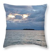 On An Island Throw Pillow