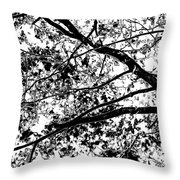 On And Limb And A Prayer Throw Pillow