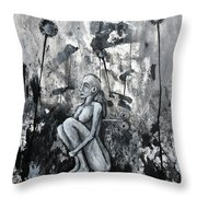 On And On But Not Forever Throw Pillow