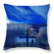On Bended Knees Throw Pillow