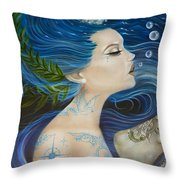 On Deck Moby Dick Throw Pillow