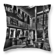 On Down The Road Throw Pillow