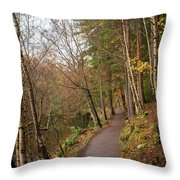 On England Throw Pillow