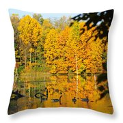On Golden Pond 2 Throw Pillow