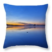 On July Morning At 03.10 Throw Pillow