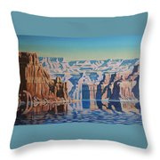 On Lake Powell Throw Pillow