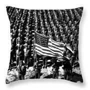 On Parade Throw Pillow
