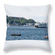 On Puget Sound Throw Pillow