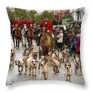 On Standby Throw Pillow