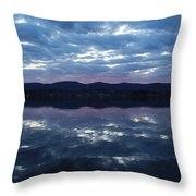 On Still Waters  Throw Pillow