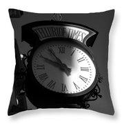On Telluride Time Throw Pillow