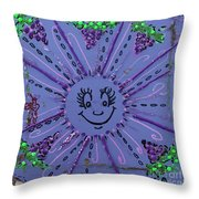 11th Day Of Christmas Throw Pillow