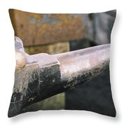 On The Anvil Throw Pillow