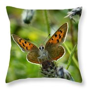 On The Beat Throw Pillow