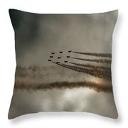On The Bend Throw Pillow