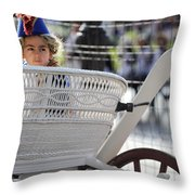 On The Carriage II Throw Pillow