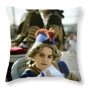 On The Carriage Throw Pillow