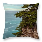 On The Cliff - Vertical Throw Pillow