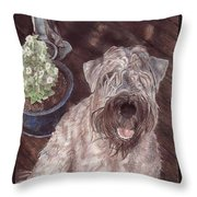 On The Deck Throw Pillow