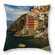 Harbor Life Throw Pillow