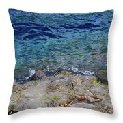 On The Edge Of The Crescent Throw Pillow