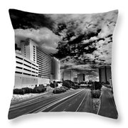 On The Expressway Throw Pillow