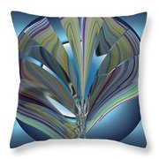 On The Half Shell Throw Pillow
