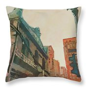 On The Loop Throw Pillow