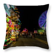 On The Midway Throw Pillow