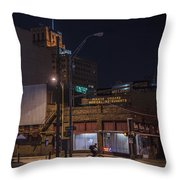 On The Move Throw Pillow by Break The Silhouette