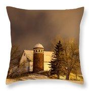 On The Prairie Throw Pillow