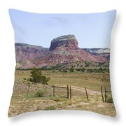 On The Ranch Throw Pillow