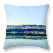 On The Road To Electric City Throw Pillow