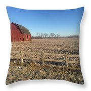 On The Road To Howell Throw Pillow